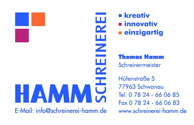 Schreinerei Thomas Hamm