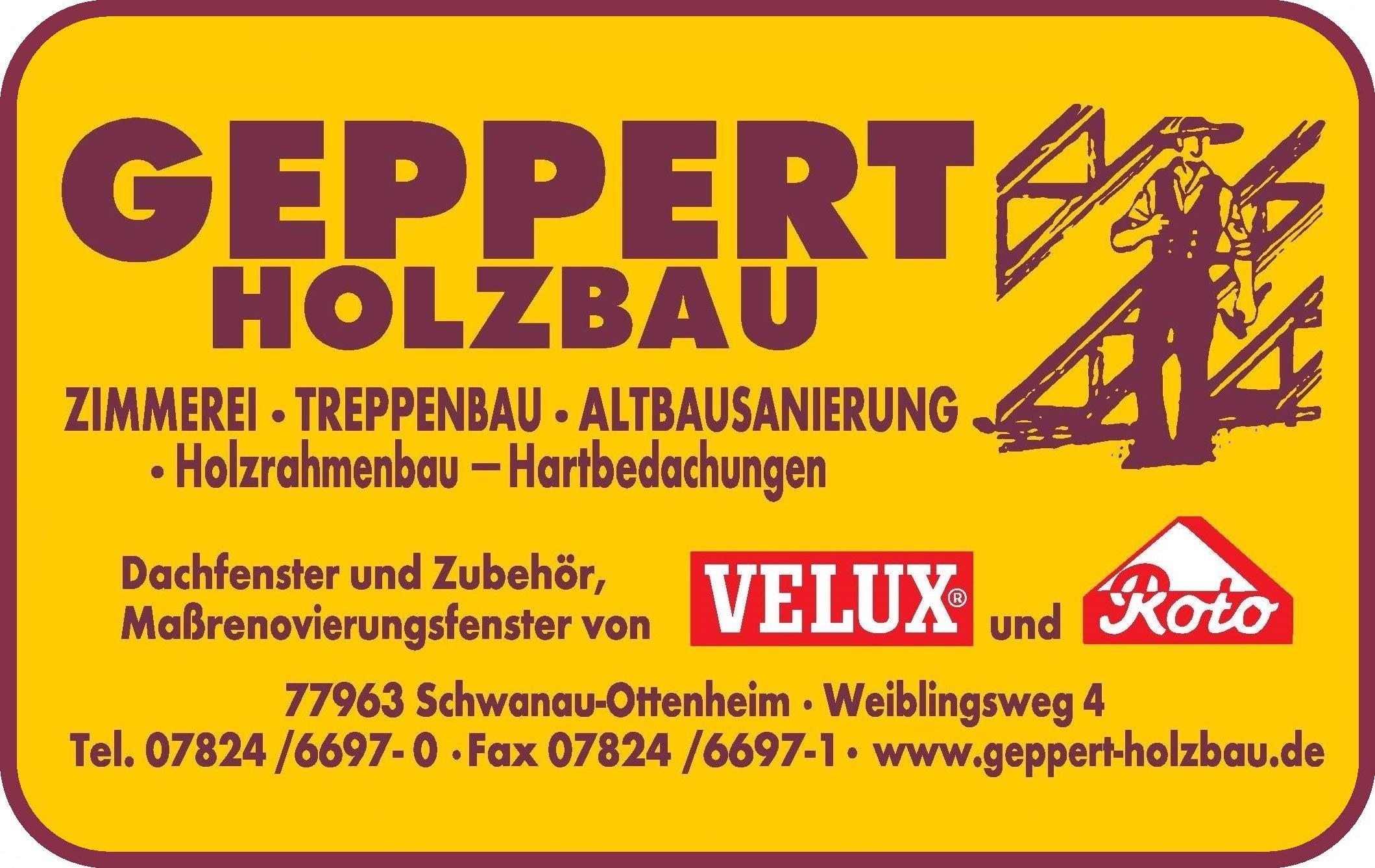 Geppert Holzbau